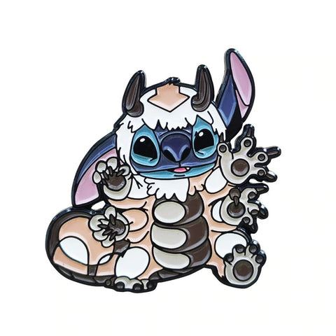 2Pcs/ Set Cutie Stitch-Appa Pin TH7 - 1st Iceland