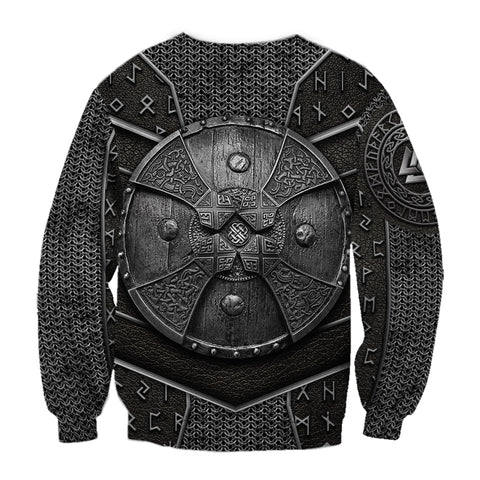 Image of 1stIceland Viking Sweatshirt Odin Armor | 1sticeland.com