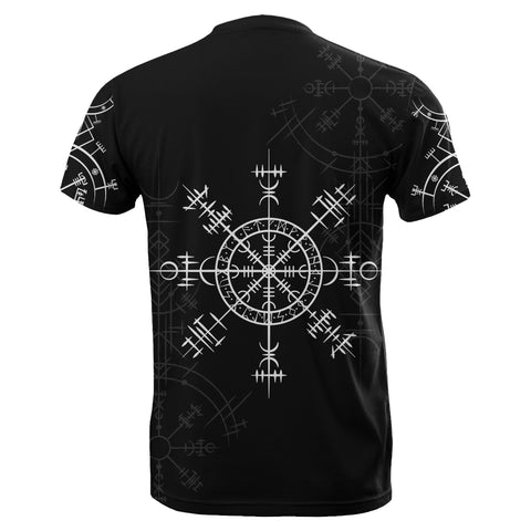 1stIceland Magic Ancient Viking Tattoo T-Shirt TH4