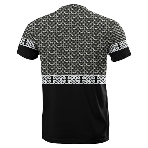 1stIceland Viking Sword T-Shirt Mix Celtic Patterns TH4 - 1st Iceland