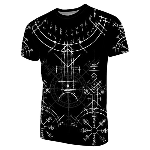 Image of 1stIceland Magic Ancient Viking Tattoo T-Shirt TH4 - 1st Iceland
