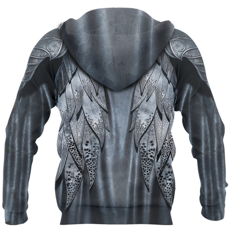 1stIceland Hoodie, 3D Thraindrull Armor Th00 - 1st Iceland