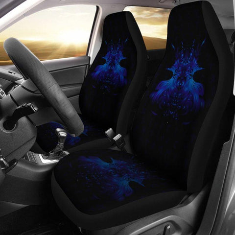 1stIceland Viking Car Seat Covers, Tyr's Wolf Fenrir Skoll And Hati K5 - 1st Iceland