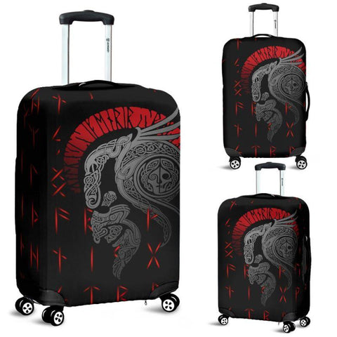 1stIceland Viking Luggage Cover, Odin's Warrior Runes A4 - 1st Iceland