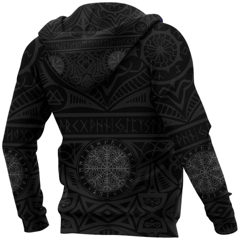 1stIceland Viking Pullover Hoodie, Helm Of Awe Iceland Coat Of Arms K4 - 1st Iceland