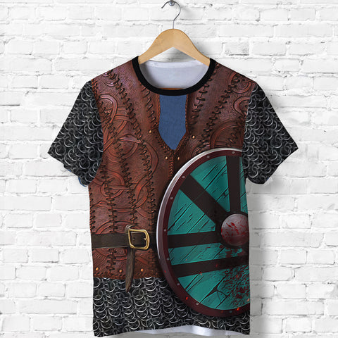 Image of 1stIceland Viking T Shirt, Shield Maiden Lagertha K4 - 1st Iceland
