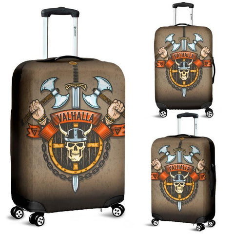 1stIceland Viking Luggage Cover, Valhalla Sword Axes Nn8 - 1st Iceland