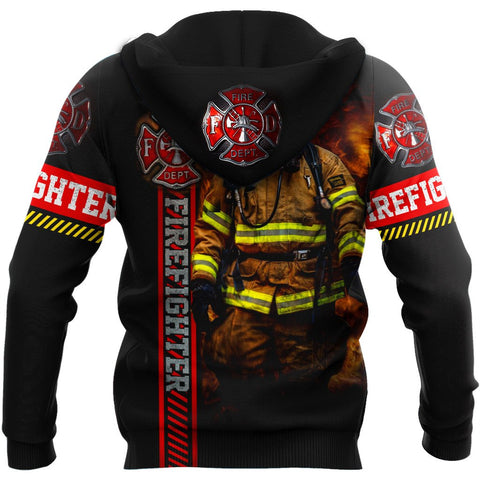 1st Iceland Brave Firefighter Hoodie