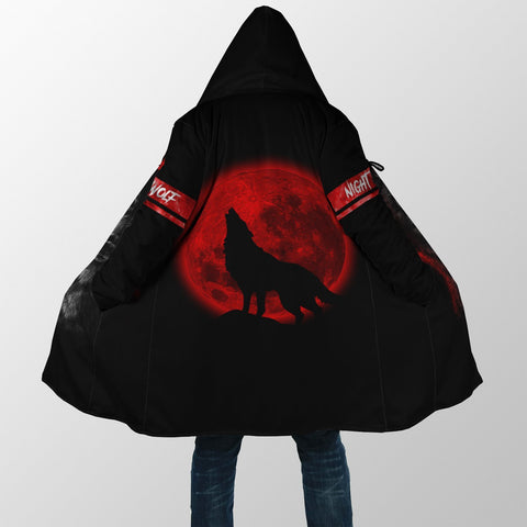 Image of 1stIceland Wolf Moon Blood Hooded Cloak TH12 - 1st Iceland