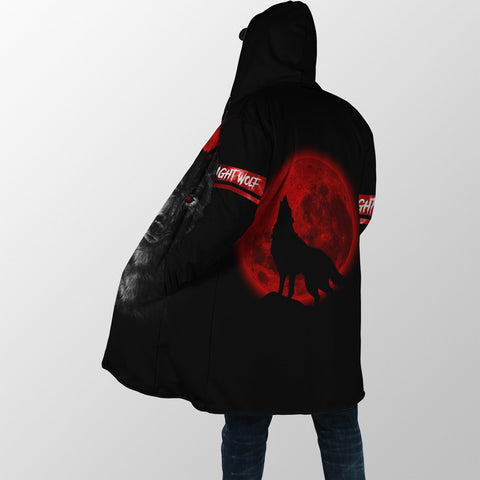 1stIceland Wolf Moon Blood Poker Hooded Cloak TH12 - 1st Iceland