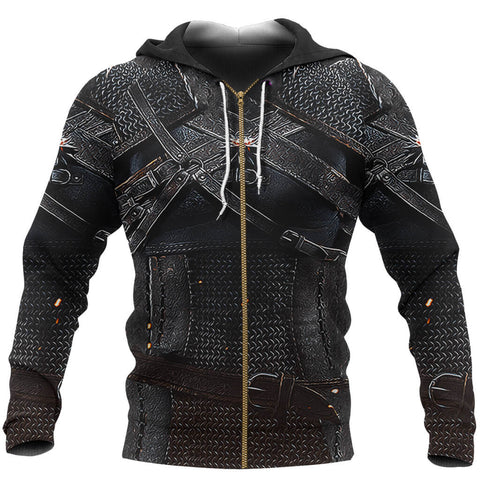 Image of 1stIceland Zip Up Hoodie, 3D Witcher Armor TH00 - 1st Iceland