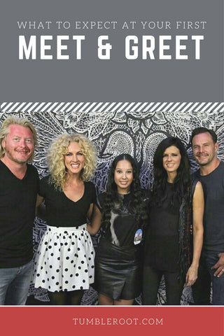 meeting little big town for the first time! how to make the most of your first meet and greet with country artists!