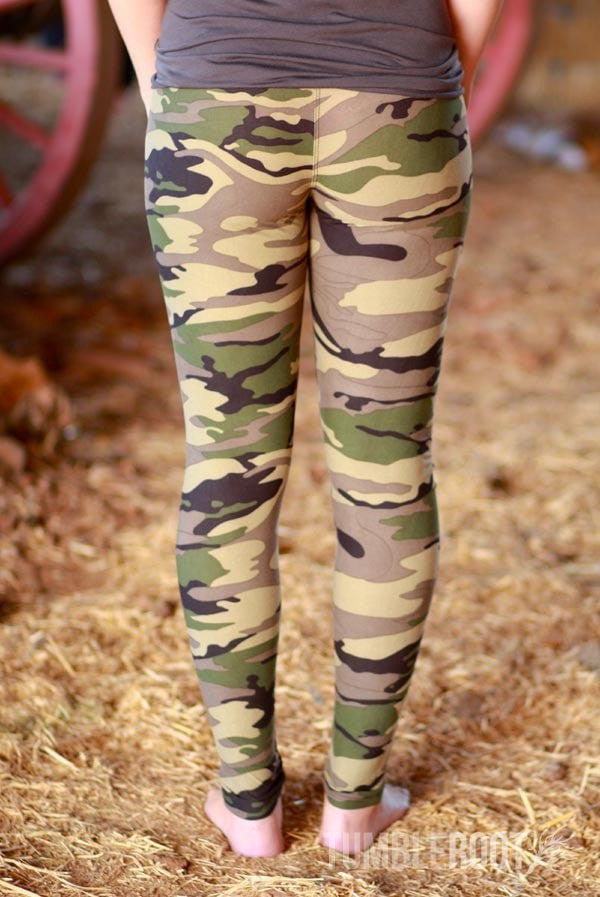Cute country girl camo leggings!
