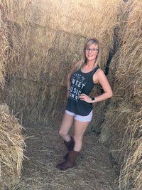 Take Me to the Country | Flowy Racerback Tank