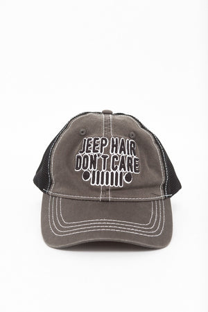 Jeep Hair Don't Care | Soft Mesh Vintage Trucker Hat