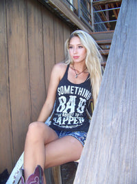 Something Bad | Essential Racerback Tank