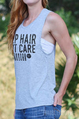 Jeep Hair Don't Care | Flowy Muscle Tank