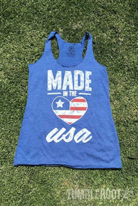 The perfect patriotic tank! Pairs well with a cold beer and a warm summer night.