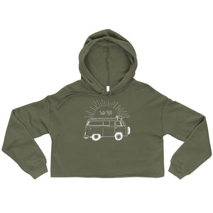 Let's Roll Cropped Hoodie