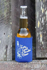 Pretty Good at Drinkin' beer country festival koozies! perfect for stagecoach!
