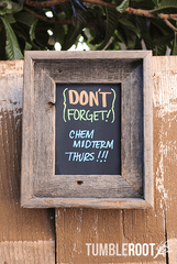 Adorable 5x7 barnwood chalkboard frame - so many uses!