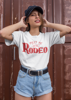 Meet Me at the Rodeo Retro T-Shirt