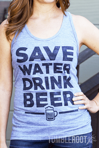 Save Water Drink Beer | Women's Tank Top