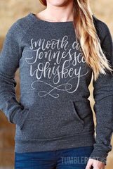 """Smooth as Tennessee Whiskey"" sweater! Perfect for Stagecoach or a country music festival! ♥"