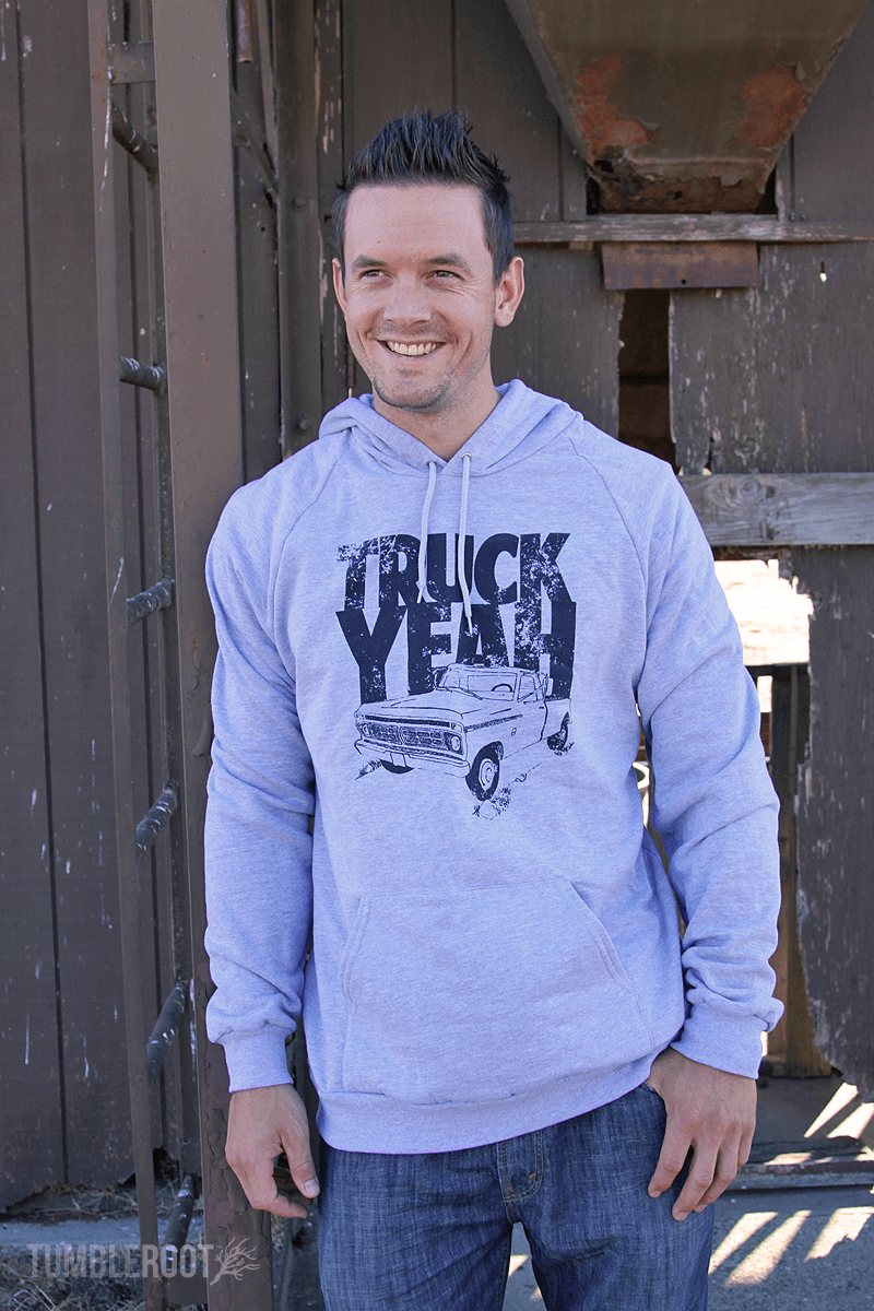 Truck Yeah! Country lifestyle inspired sweatshirt!