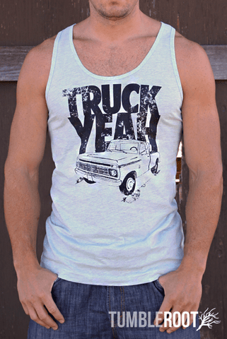 Country lifestyle Truck Yeah tank top - perfect for country concerts!