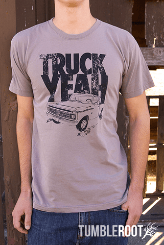 Country lifestyle inspired t shirt - Truck Yeah!