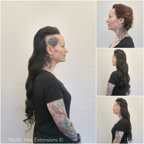mohawk hair extensions Vancouver