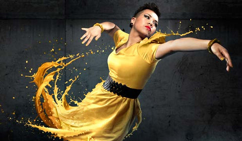 Parris Goebel hair extensions