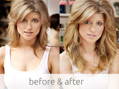 blonde hair extensions with volume and length