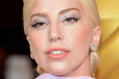 Lady Gaga Eyes Eyelash Extensions