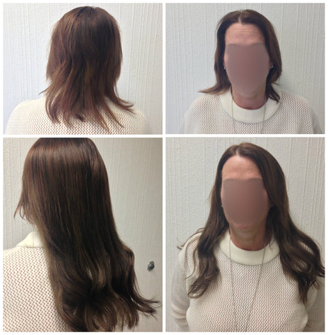 hair extensions for older women with fine hair Vancouver