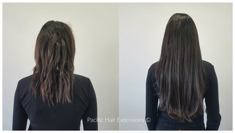 remy hair extensions chemically damaged hair Vancouver