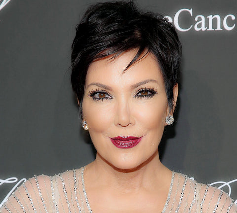 Kris Jenner Eyelashes Eyes Eyelash Extensions
