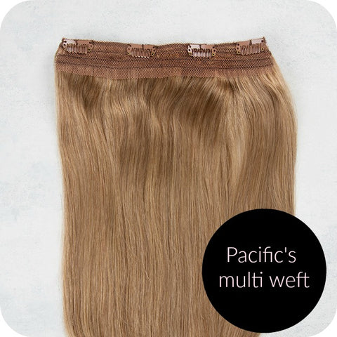 hair extension weft clip-in extensions