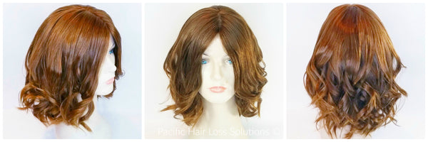 Quality European human hair wig at Pacific Hair Vancouver