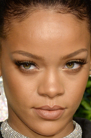 Rihanna Eyes Eyelash Extensions