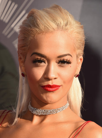 Rita Ora Eyes Eyelash Extensions