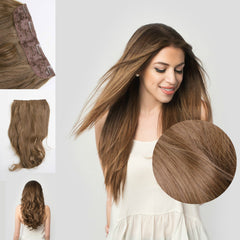 Classic Quad Clip-In Extensions for Fine Hair