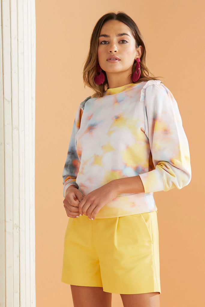 Cappie Sweatshirt Barely Sunset