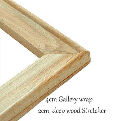 2X4cm Galery wrap Home & Garden > Decor > Picture Frames Best Portrait Painting