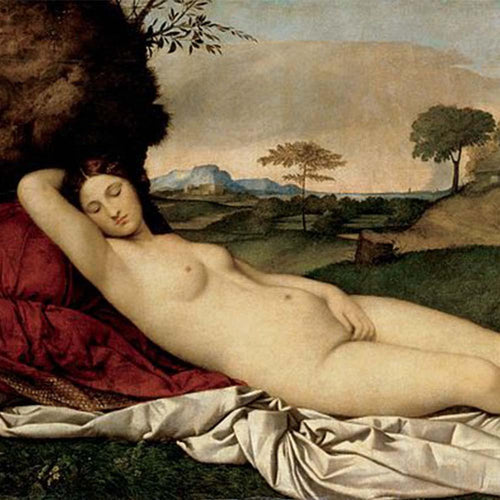 Sleeping Venus (c. 1510). Artist: Giorgione Home & Garden > Decor > Artwork > Posters, Prints, & Visual Artwork ArtToyourlife