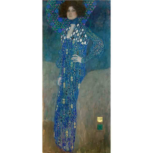 Portrait of Emily Floge (1902). Artist: Gustav Klimt Home & Garden > Decor > Artwork > Posters, Prints, & Visual Artwork ArtToyourlife