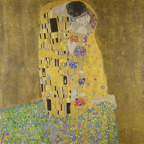 The Kiss (1907–08). Artist: Gustav Klimt Home & Garden > Decor > Artwork > Posters, Prints, & Visual Artwork ArtToyourlife