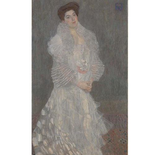Portrait of Hermine Gallia (1904). Artist: Gustav Klimt Home & Garden > Decor > Artwork > Posters, Prints, & Visual Artwork ArtToyourlife