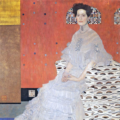 Portrait of Fritza Riedler (1906). Artist: Gustav Klimt Home & Garden > Decor > Artwork > Posters, Prints, & Visual Artwork ArtToyourlife